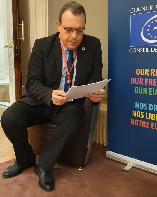 """Σ. Φάμελλος στο Συμβούλιο της Ευρώπης: """"Πρωτοβουλίες  για  Βιώσιμη Ανάπτυξη στην πράξη"""""""