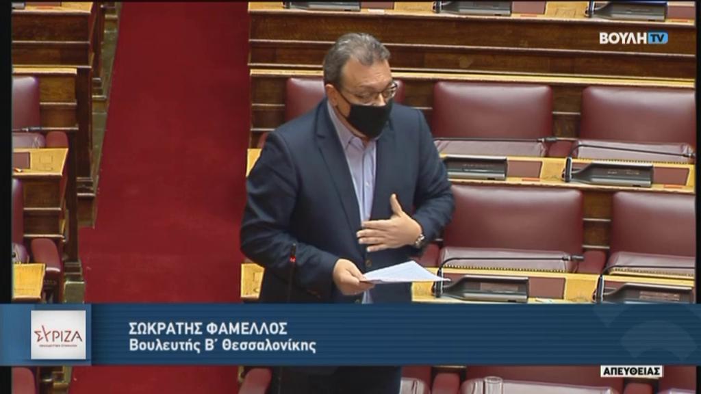 """Σ. Φάμελλος: """"Επικίνδυνη καθυστέρηση στη διεκδίκηση πόρων που ανήκουν στην Ελλάδα για την απανθρακοποίηση των νησιών"""""""