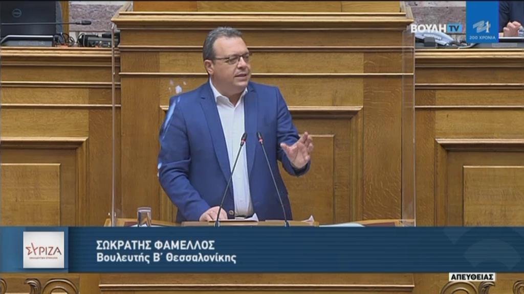 """Σ. Φάμελλος: """"Η αποικιοκρατική σύμβαση της Ελληνικός Χρυσός ακυρώνει δικαιώματα του ελληνικού κράτους και της κοινωνίας της Χαλκιδικής"""""""